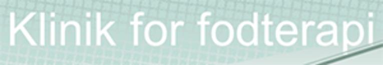 Klinik for fodterapi v/ Anitta Andersen logo