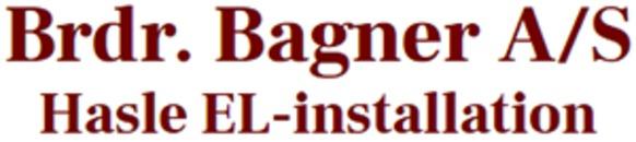 Brdr. Bagner A/S - Hasle El logo