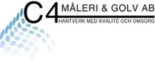 C4 Måleri & Golv AB logo
