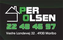 Tømrer Per Olsen logo