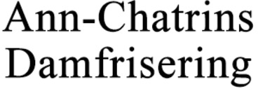 Ann-Chatrins Damfrisering logo