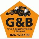 Grus & Byggåtervinning i Gävle AB logo
