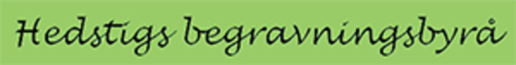Hedstigs Begravningsbyrå logo