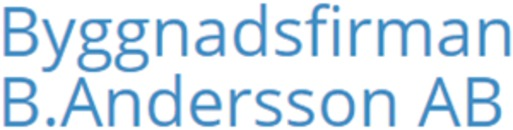 Byggnadsfirman Birger Andersson Emmaboda AB logo