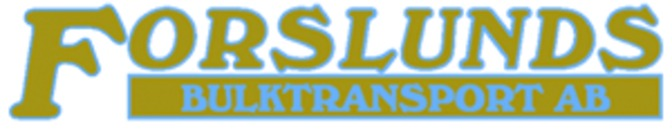Forslunds Bulktransport AB logo