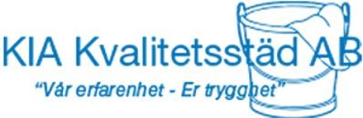 KIA Kvalitetsstäd AB logo