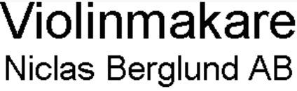 Violinmakare Niclas Berglund AB logo