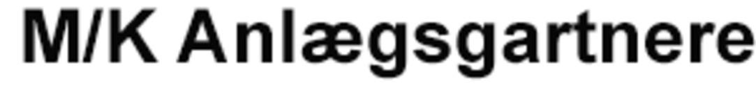 M/K Anlægsgartnere logo
