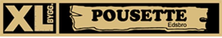 XL Bygg Pousette logo