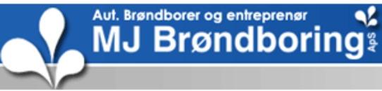 M.J. Brøndboring ApS logo