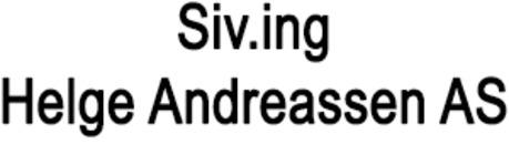 Siv.ing Helge Andreassen AS logo