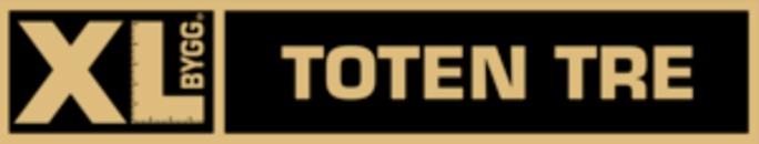 XL-BYGG Toten tre logo