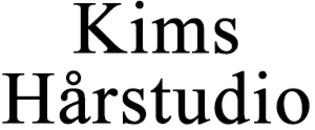 Kims Hårstudio logo
