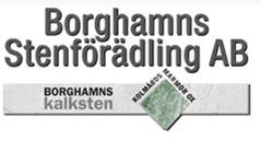 Borghamns Stenförädling AB logo