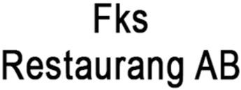 Fks Restaurang AB logo