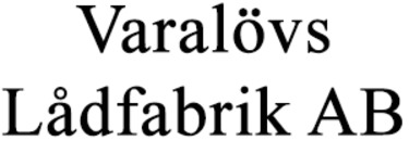 Varalövs Lådfabrik AB logo