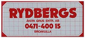 Bröderna Rydbergs Åkeri AB logo
