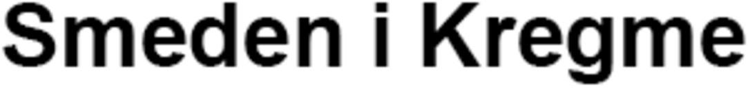 Smeden i Kregme logo