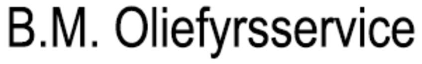 B.M. Oliefyrsservice logo