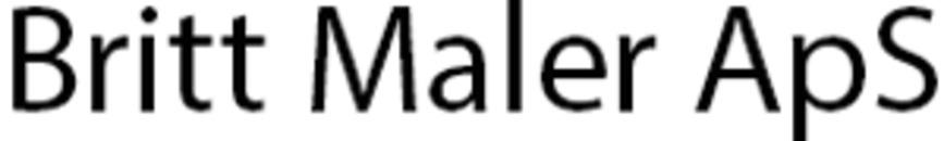 Britt Maler ApS logo