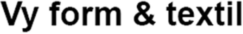 vy form & textil HB logo