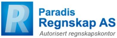 Paradis Regnskap AS logo