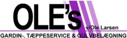 Ole's Gardin- og Tæppeservice Gulvbelægning Aps logo