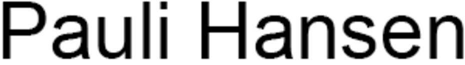 Pauli Hansen logo