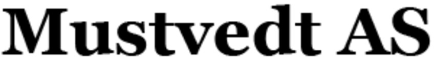 Mustvedt AS logo