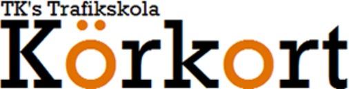 Körkort Tk'S Trafikskola logo