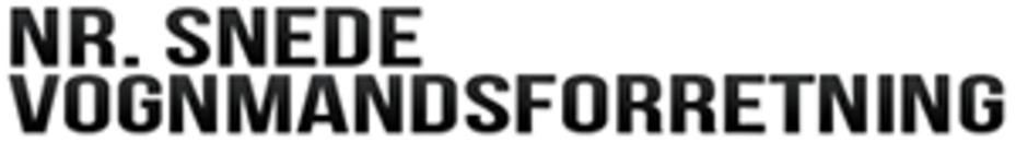 Nr. Snede Vognmandsforretning A/S logo