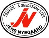 Jens Nyegaard. Tømrer- Og Snedkermester ApS logo