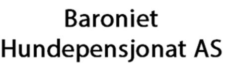 Baroniet Hundepensjonat AS logo