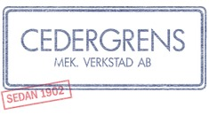 Cedergrens Mekaniska Verkstad AB logo