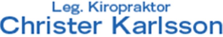 Kiropraktor Christer Karlsson logo