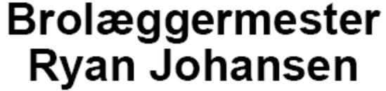 Brolæggermester Ryan Johansen logo