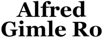 Alfred Gimle Ro logo