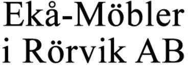 Ekå-Möbler i Rörvik AB logo