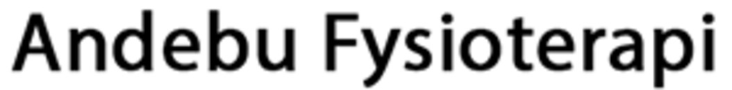 Andebu Fysioterapi logo