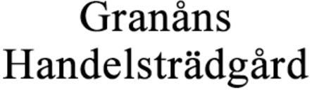 Granåns Handelsträdgård AB logo