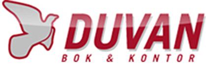 DUVAN Bok & Kontor AB logo