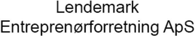 Lendemark Entreprenørforretning ApS logo
