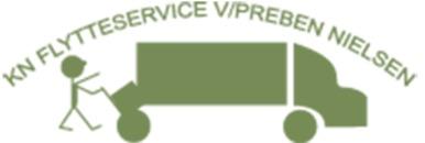 KN Flytteservice logo