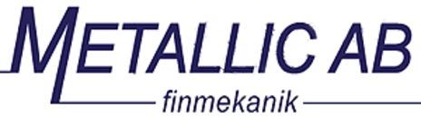 Metallic V. O. S. AB logo