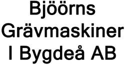 Bjöörns Grävmaskiner I Bygdeå AB logo