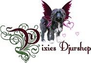 Pixies Djurshop logo