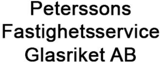 Peterssons Fastighetsservice i Glasriket AB logo