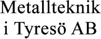 Metallteknik i Tyresö AB logo