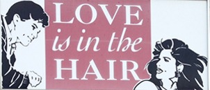 Love is in the Hair AB logo