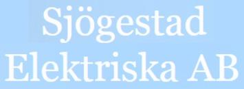 Sjögestad Elektriska AB logo